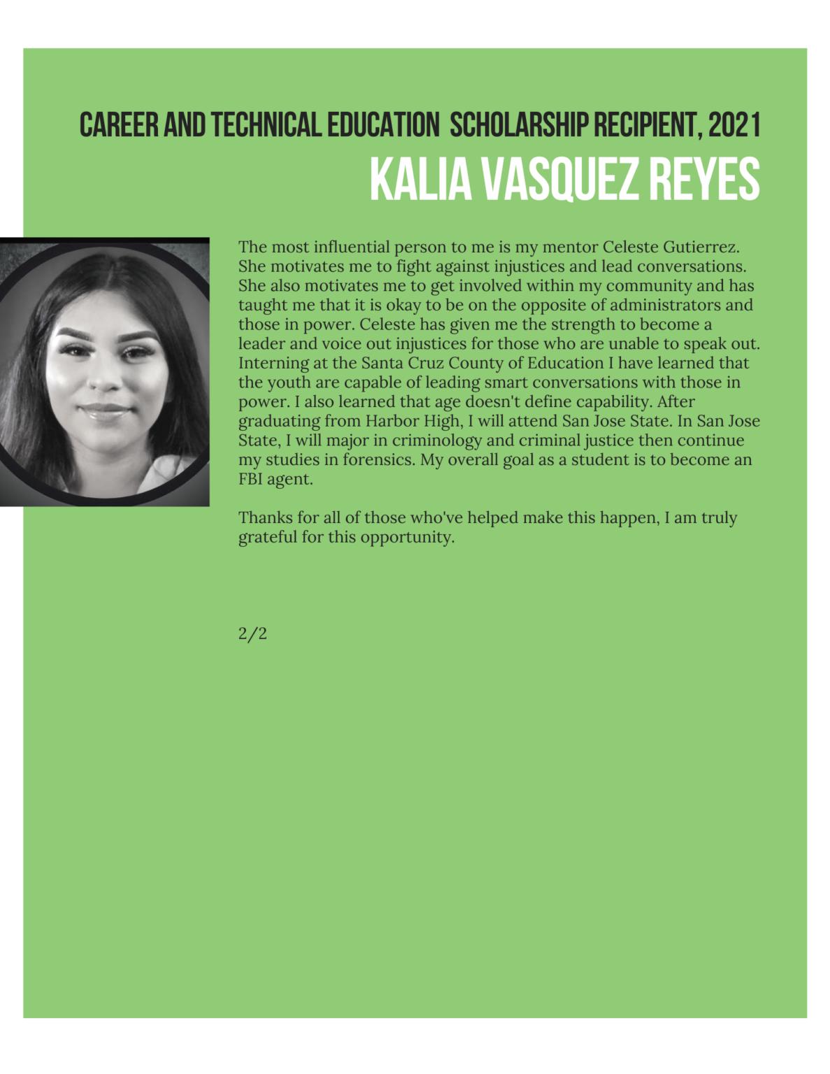 kalia vasquez essay 2